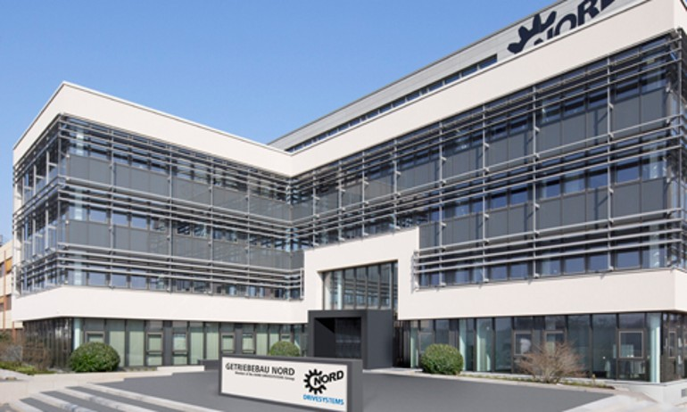 Headquarter from NORD Drivesystems Group in Bargteheide, Germany