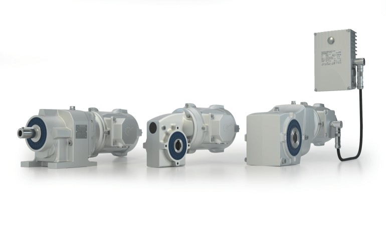 Full Line of nsd tupH Solutions - Gearbox, Motor, VFD